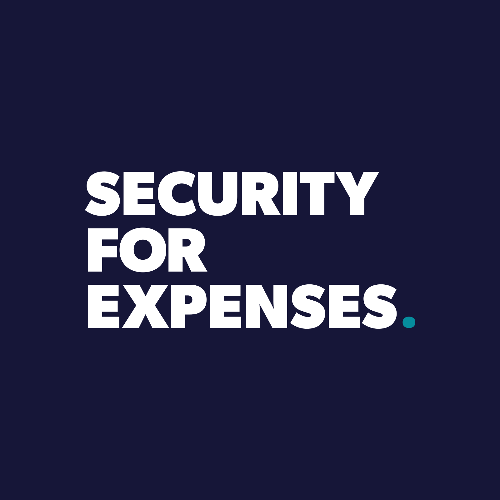 security for expenses ltd